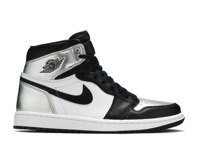 Authentic Jordan 1 Retro Silver Toe