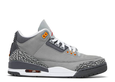 Authentic Jordan 3 Retro Cool Grey 2021