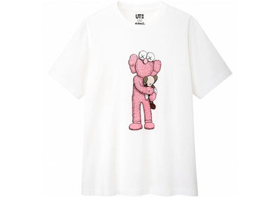 Authentic KAWS X Uniqlo Pink BFF - Sneak Foot LTD