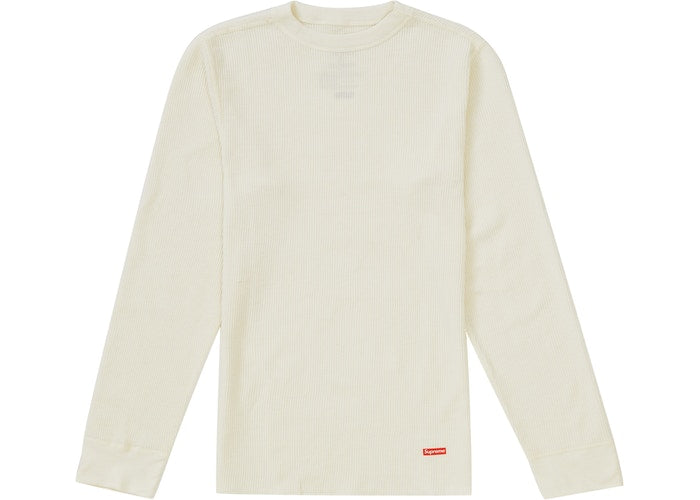 Authentic Supreme X Hanes Thermal Crew FW19 - Sneak Foot LTD