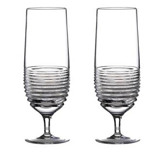 Waterford Crystal Mixology Circon Hurricane, pair
