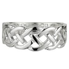 Solvar Sterling Silver Celtic Knot Ring