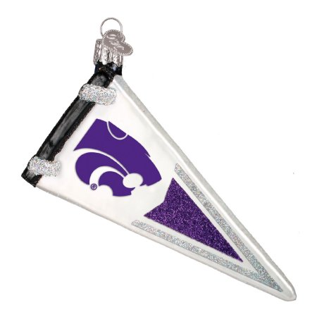 Old World Christmas Kansas State Pennant