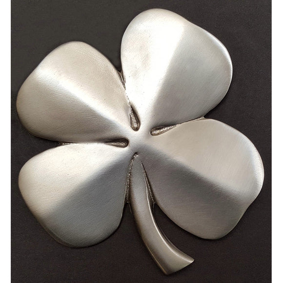 Robert Emmet Silver Four Leaf Clover Hanging Blessing