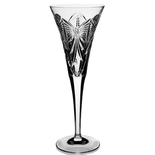 Waterford Crystal Millennium Flutes, Pair, Happiness