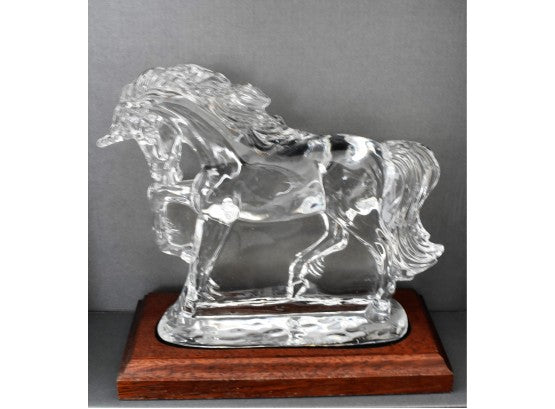 Waterford Crystal WS Unicorn with Base