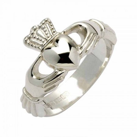 Fado Sterling Silver Claddagh Ring