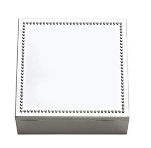 Reed & Barton Lyndon Silver Plated Square Box