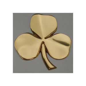 Brass Shamrock Wall Hanging