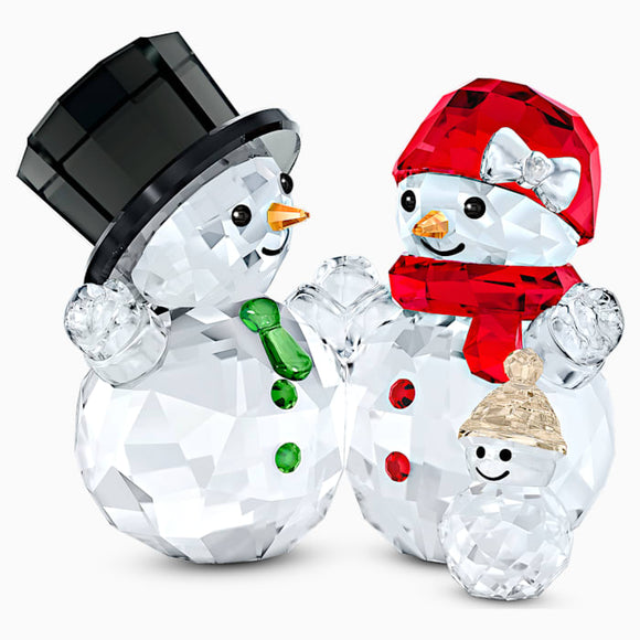 Swarovski New Snowman Family