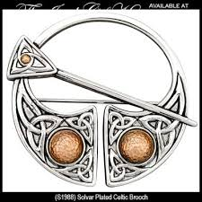 Solvar Sterling Silver Celtic Knot Brooch
