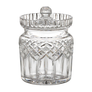 Waterord Crystal Lismore Biscuit Barrel