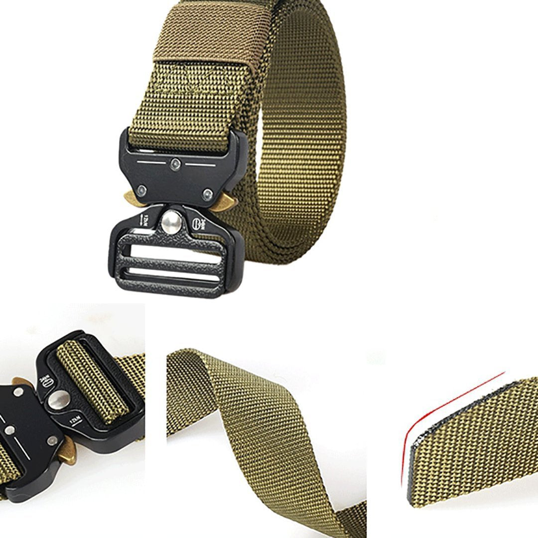 Men's Hot Tactical Military Nylon Outdoor Multifunctional Training Belt