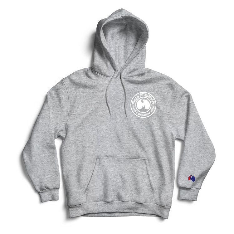 Tical Athletics Embroidery hoodie grey