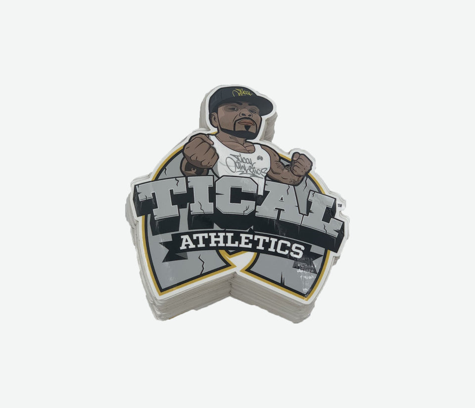 Tical Comic Sticker