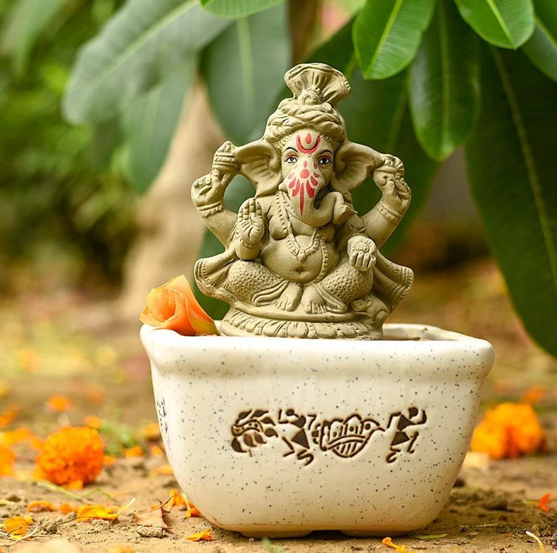 This Ganesh Chaturthi, Welcome Nature along with Ganpati!