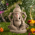 7INCH Gaurik Eco-Friendly Ganpati | Plant-A-Ganesha