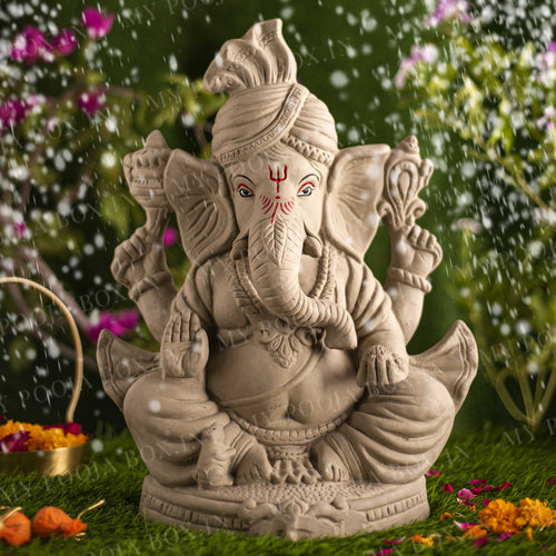 1.5FEET Rudveda Eco-Friendly Ganpati | Plant-A-Ganesha