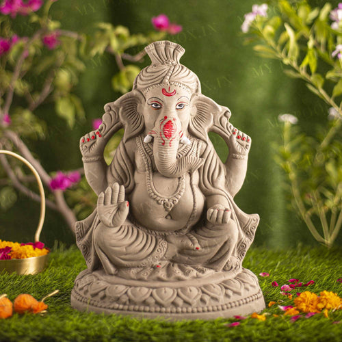 1.2FEET Taruna Eco-Friendly Ganpati | Plant-A-Ganesha