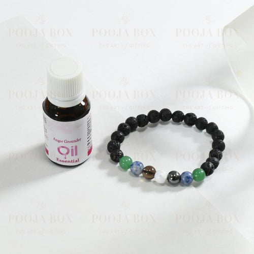 Aroma Therapy Bracelet For Anger Management Reiki