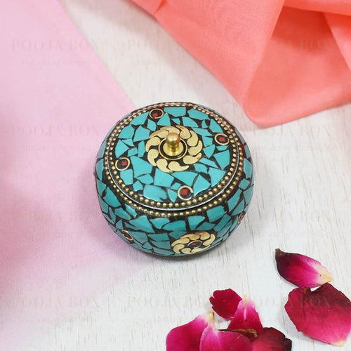 Beautiful Small Sindoor Box