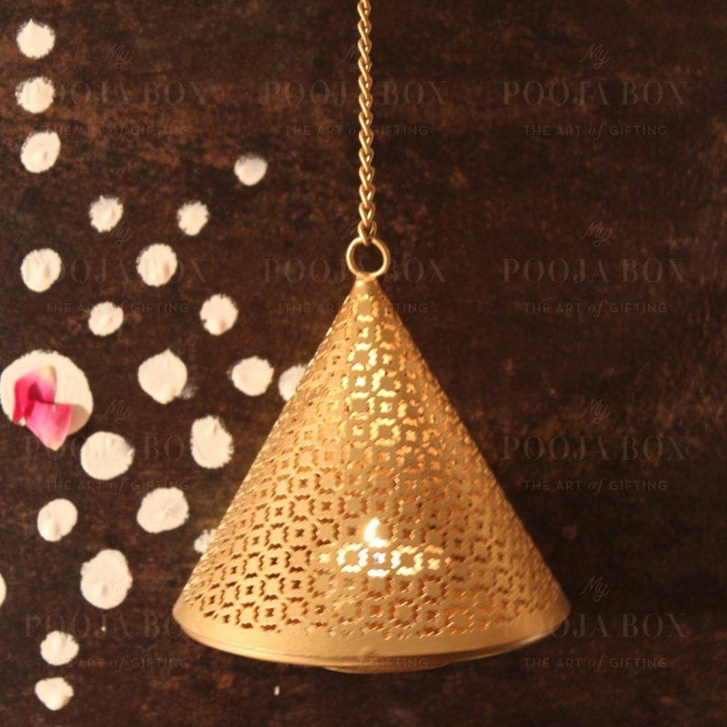 Handcrafted Makhruti Hanging T-Light Holder Limited Edition