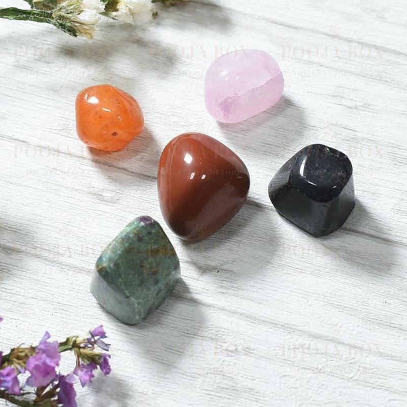 Relationship Crystal Healing Tumble Stone Set Reiki
