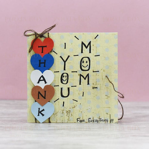 Thank You Mom Mothers Day Greeting Card Card