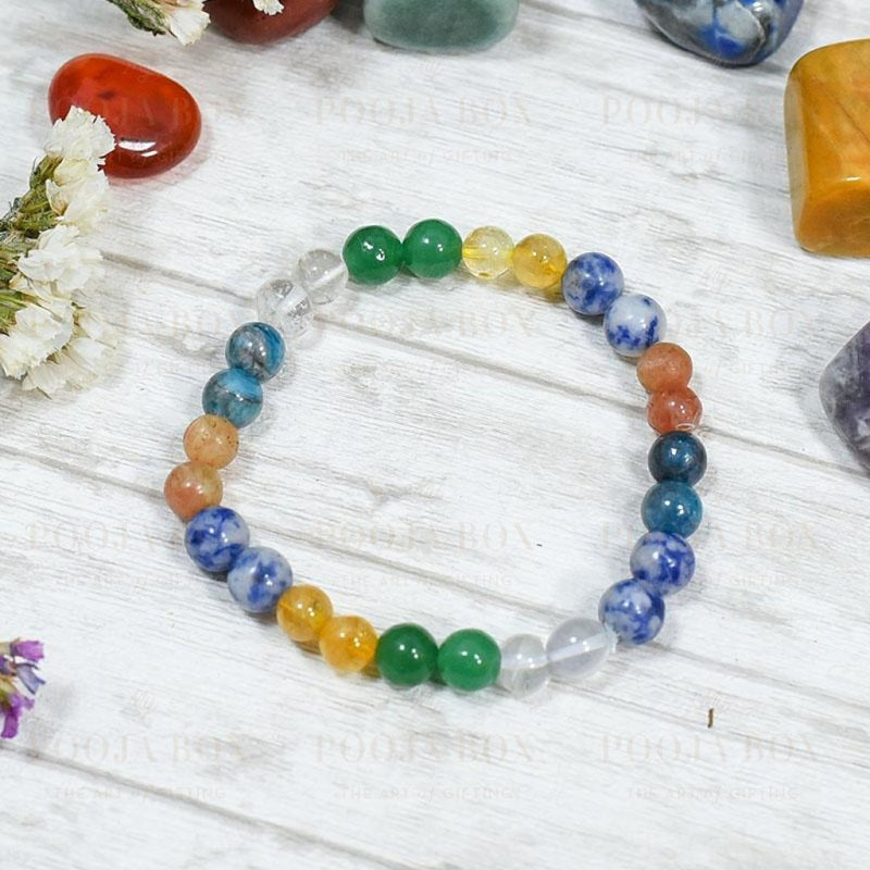Weight Loss Crystal Healing Bracelet Reiki