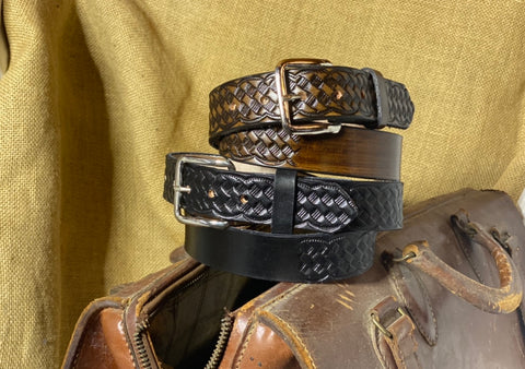 Adult Belt: Basket Weave