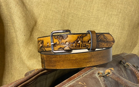 Adult Belt: Fish