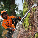 STIHL MS500i - Powerful chainsaw with electronically controlled fuel injection
