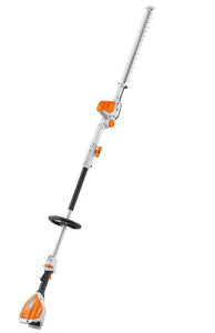 "STIHL HLA 56 Long-reach hedge trimmer - 135° adjustable cordless long-reach hedge trimmer with 18"" / 45 cm blade length"