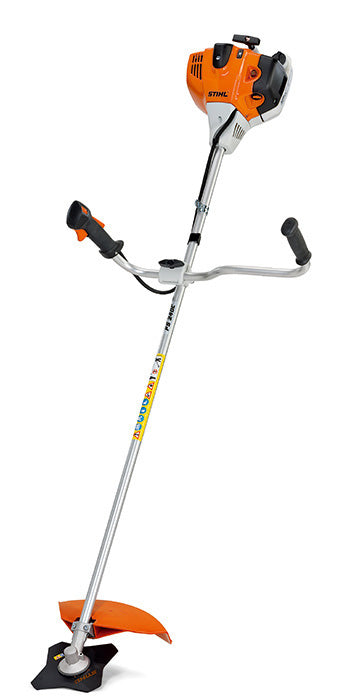 STIHL FS 240 C-E Versatile 1.7kW petrol Brushcutter with ErgoStart (E) and bike handle from Maurice Allen