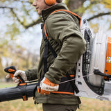 STIHL BR 800 C-E Most powerful professional blower from STIHL