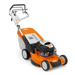 STIHL RM 655 VS High performance petrol lawn mower with blade brake clutch