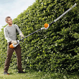 "STIHL HLA65 Long-reach hedge trimmer - 115° adjustable cordless hedge trimmer with 20"" / 50 cm blade length"