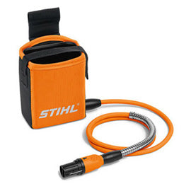 STIHL AP holster with connecting cable - Use in conjunction with AP battery belt