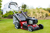 "GARDENCARE LMX46SP 46cm (18"") 'TO THE EDGE' 140CC 3-in-1 SELF PROPELLED LAWN MOWER"