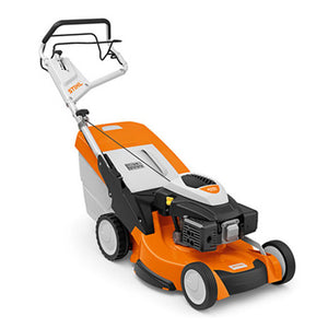 STIHL RM 655 V High performance petrol lawn mower with 3-in-1 mowing system