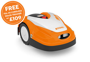 STIHL RMI 422 P Compact robotic mower with powerful battery for lawns up to 1500m²