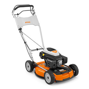STIHL RM 4 RTP Robust and powerful professional petrol mulching mower