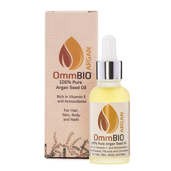 OmmBIO® ARGAN 30ml | 100% Pure, Organic and Organic Argan Oil
