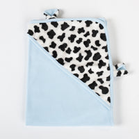 Mooky the Cow Swaddle Blanket