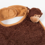 Kona the Monkey Bib