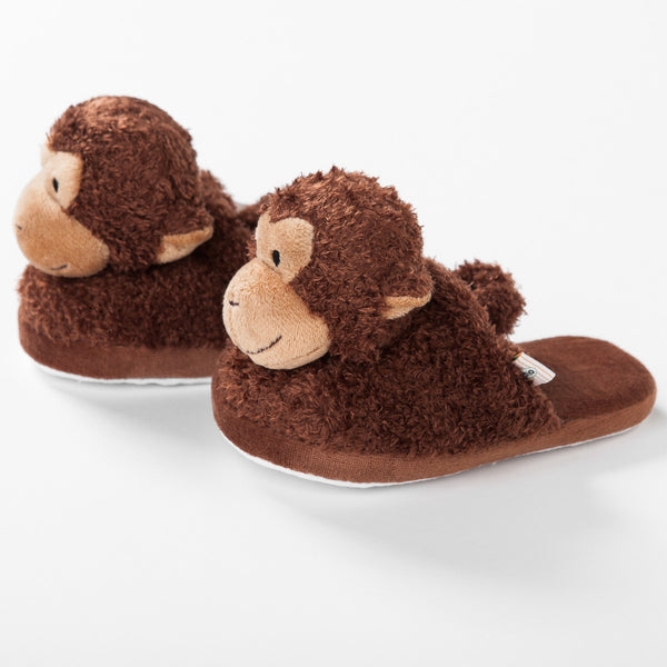 Kona the Monkey Slippers