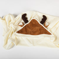 Mellven the Moose Swaddle Blanket