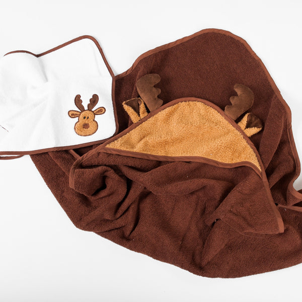 Mellven the Moose Towel Set