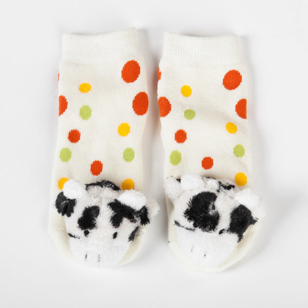 Mooky the Cow Socks