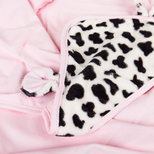 Mooky The Cow Swaddle Blanket The Babymio Collection